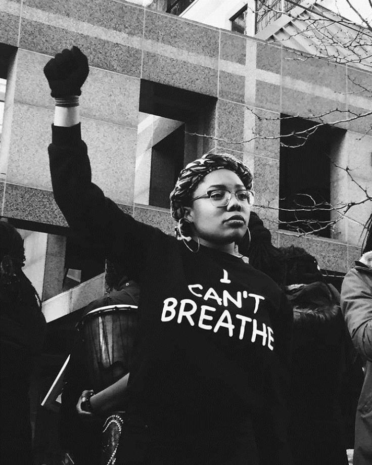 Black Lives Matter - Toronto - Black Lives Matter Protesters